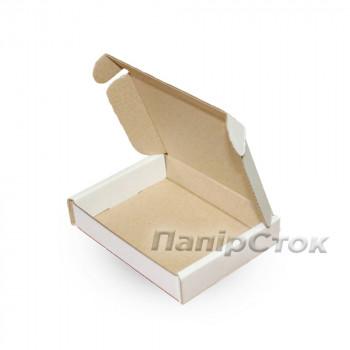 Коробка с микрогофр. белая 100х80х20 самосборная
