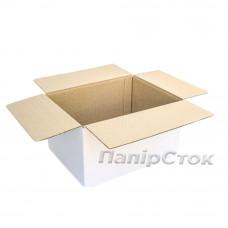 Коробка 3-х шарова біла 400х300х210 самозбірна