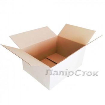 Коробка 3-х слойная  белая 510х375х255 самозборная