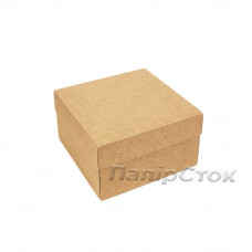 Коробка с мелов.картон. крафт 200х170х100, самосборная,2ч
