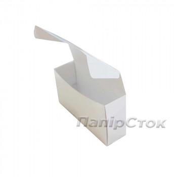 Коробка с мелов.картон. белая 220х60х100, самосборная,2ч