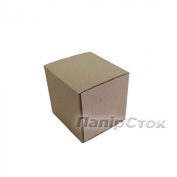 Коробка с микрогофр. 80х80х80 самосборная
