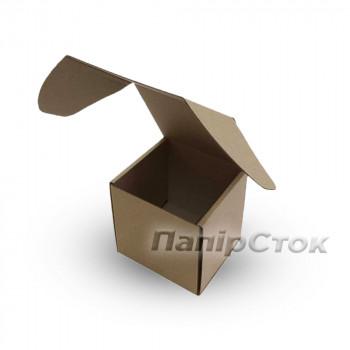 Коробка с микрогофр. 130х130х130 самосборная