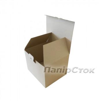 Коробка с микрогофр. 235х200х180 самосборная