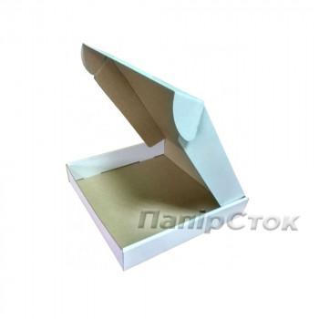 Коробка с микрогофр. белая 260х260х50 самосборная