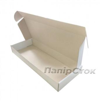 Коробка с микрогофр.белая 450х180х60 самосборная