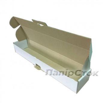 Коробка с микрогофр.белая 450х90х60 самосборная