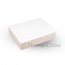 Коробка з мелов.картон. белая 250х200х50 самосборная