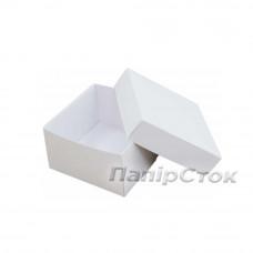 Коробка біла 90х90х50 самозбірна (2 ч.)