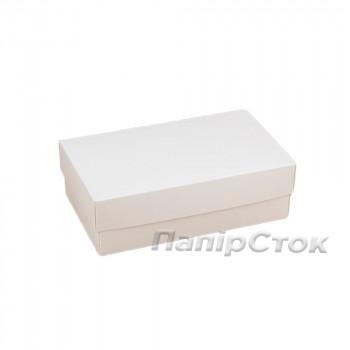 Коробка с мелов.картон. белая140х85х85, самосборная 2ч.
