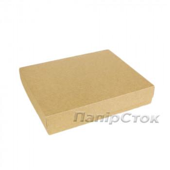 Коробка з мелов.картон. крафт 280х230х50 самосборная 2ч.