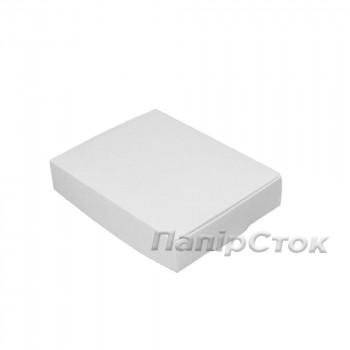 Коробка с мелов.картон.белая 100х80х20 самосборная