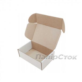 Коробка с микрогофр. белая 150х100х50, самосборная