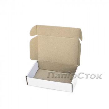 Коробка с микрогофр. белая 175х115х45, самосборная