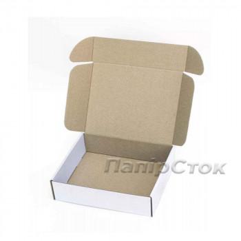 Коробка с микрогофр. белая 220х200х70, самосборная