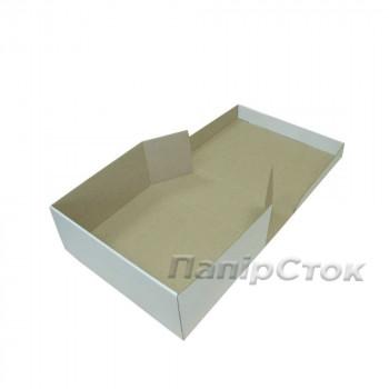 Коробка с микрогофр. белая 330х250х110, самосборная