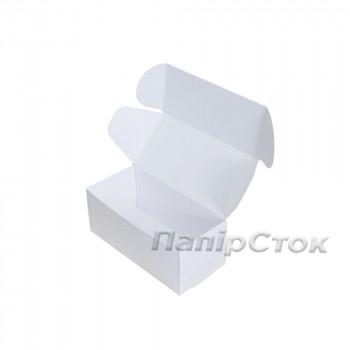 Коробка с мелов.картон. белая 150х70х60 самосборная