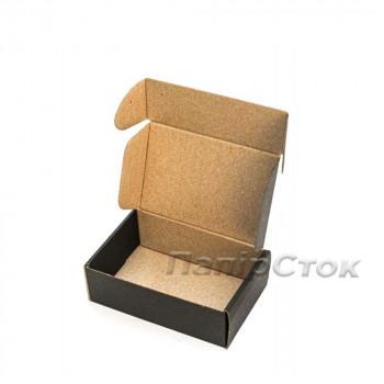 Коробка с микрогофр. черная 150х100х50 самосборная