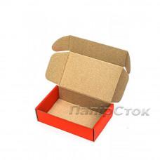 Коробка с микрогофр. красная 150х100х50, самосборная