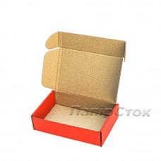 Коробка с микрогофр. красная 175х115х45, самосборная