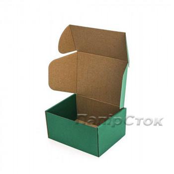 Коробка с микрогофр. зеленая 190х150х100, самосборная