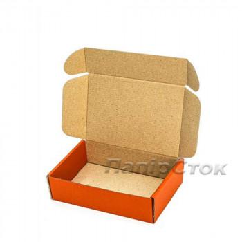 Коробка с микрогофр. оранжевая 175х115х45, самосборная