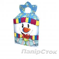 "Коробка - ""Снеговик с Подарком"" (400-600 г)"