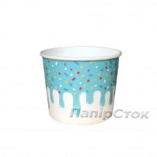 Контейнер для мороженого с рисунком 286 мл Глазурь (25/500)
