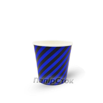 Стаканчики бумажные цветные 110 мл  Helix (50/4000)