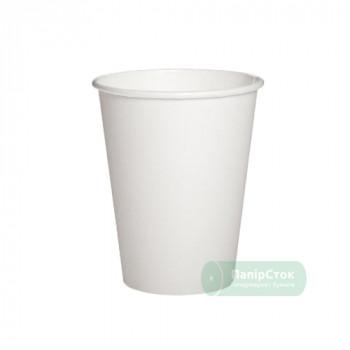 Стаканчики бумажные белые 250 мл (50/2000, КР-77 фигур)