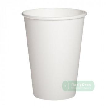 Стаканчики бумажные белые 500 мл (50/1000, КР-88 фигур)